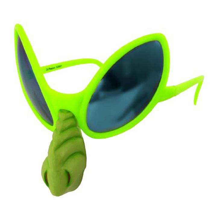 Alien Glasses with Nose