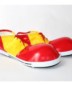 Yellow and Red Clown Adult Shoes