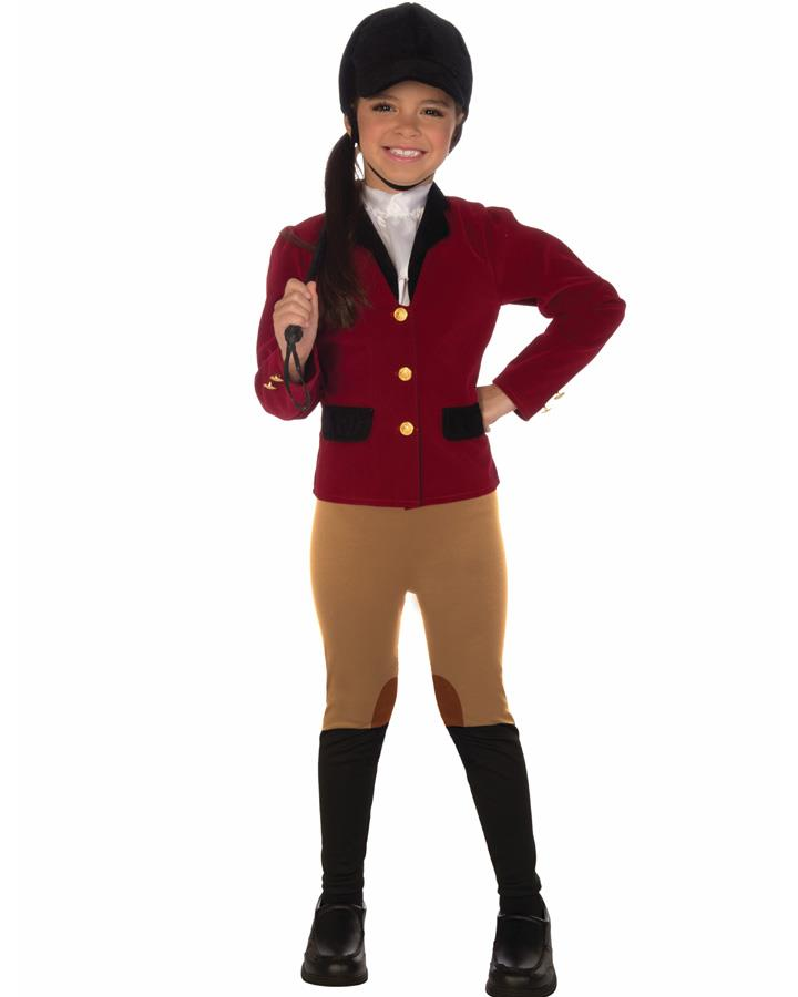 Equestrian Rider Girls Costume