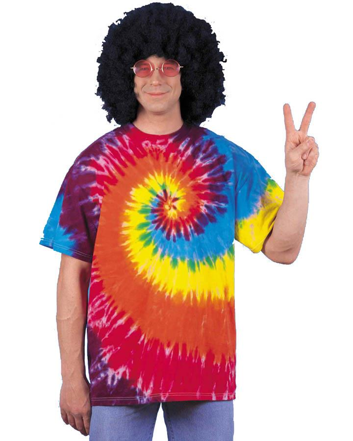 Tie Dyed Adult Shirt