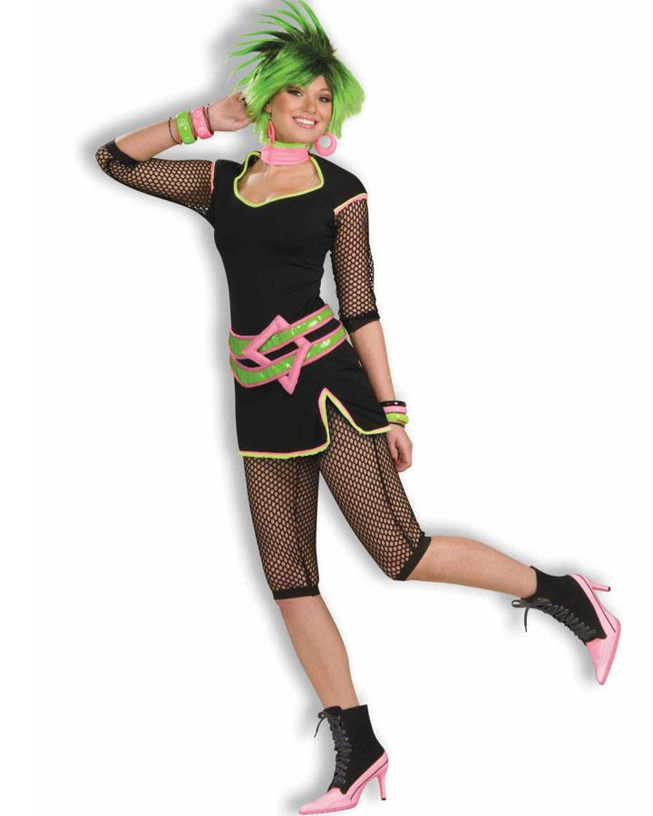 80s New Wave Womens Costume