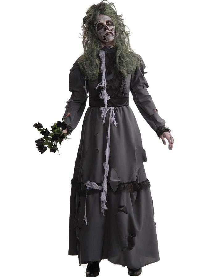 Zombie Lady Womens Costume
