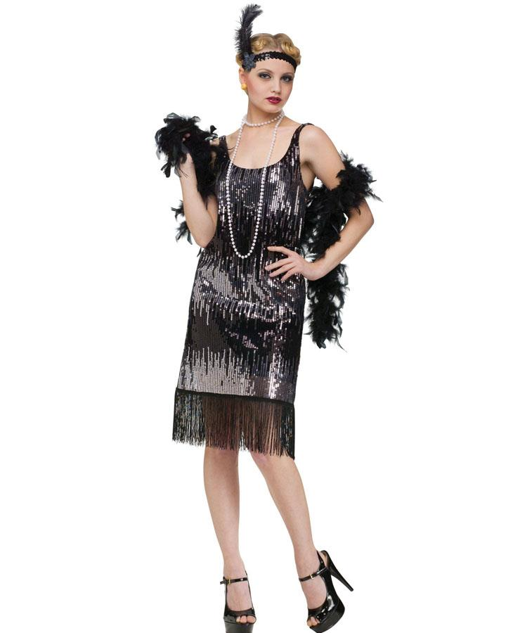 1920s Jazz Baby Womens Costume