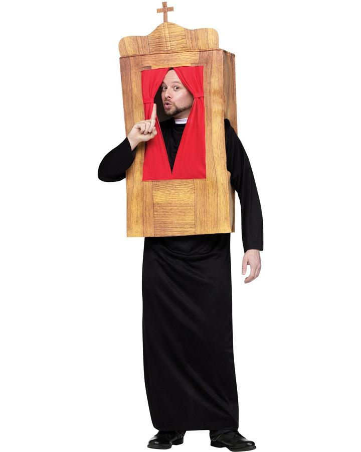 The Confessional Mens Costume