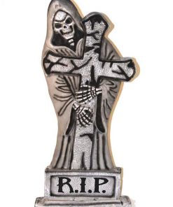 24 Inch Reaper Light Up Gothic Tombstone