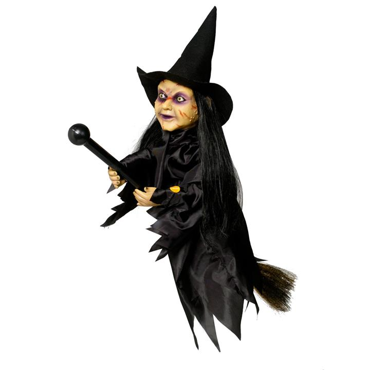 24 Inch Halloween Witch on Broom