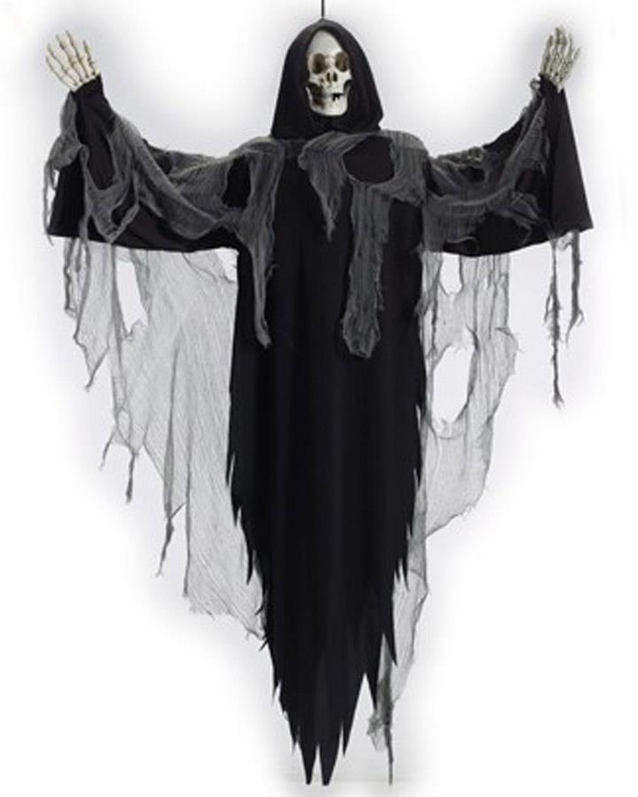 60 Inch Halloween Door Greeting Reaper
