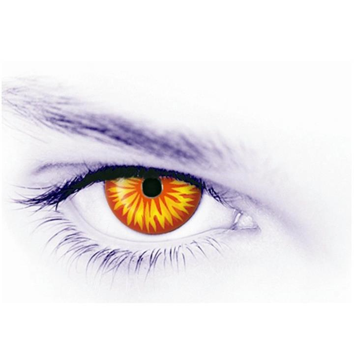 Crazy Contact Lenses and Deluxe Case Wolf Advanced