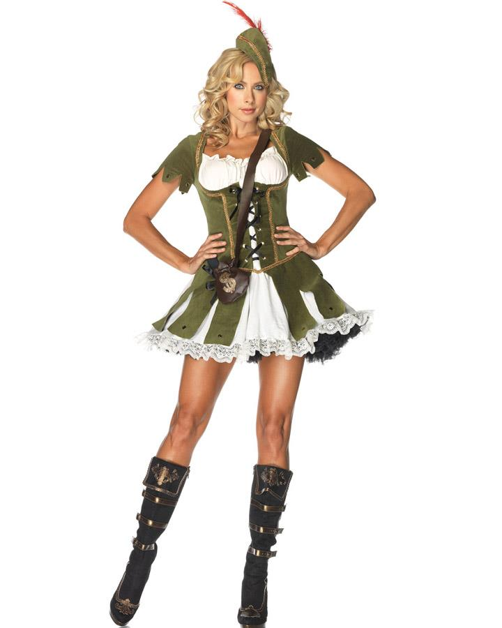 Thief of Hearts Robin Hood Womens Costume