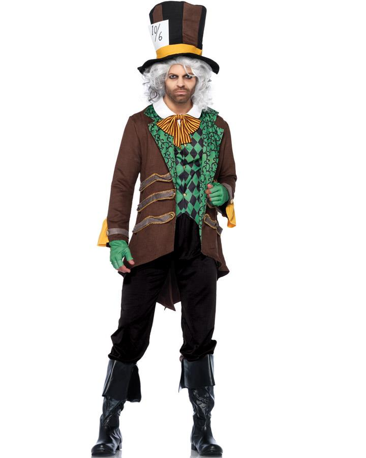 Classic Mad Hatter Mens Costume