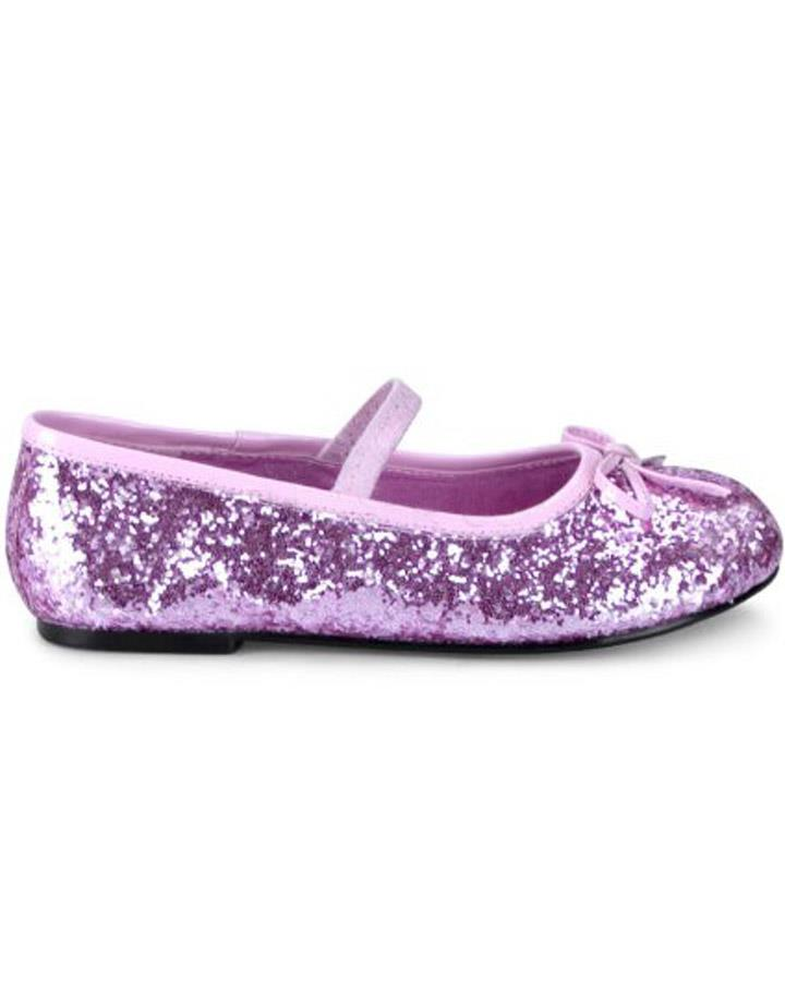 Pink Glitter Ballet Girls Shoes