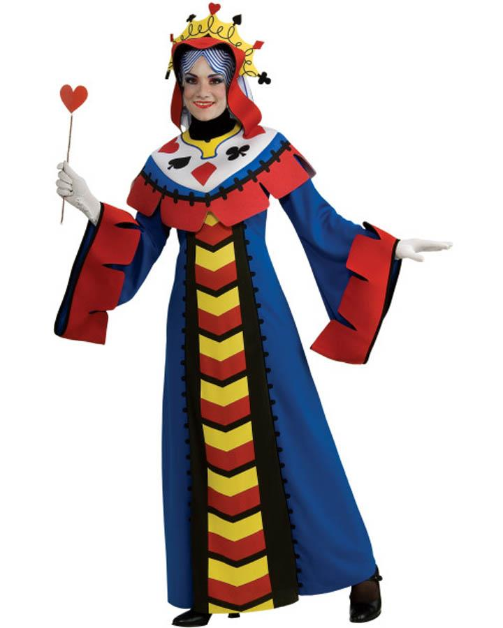 Playing Card Queen Womens Costume