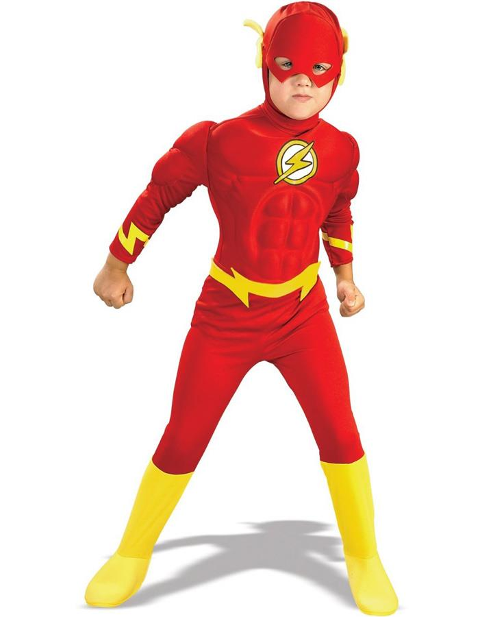 The Flash Muscle Chest Boys Toddler Costume