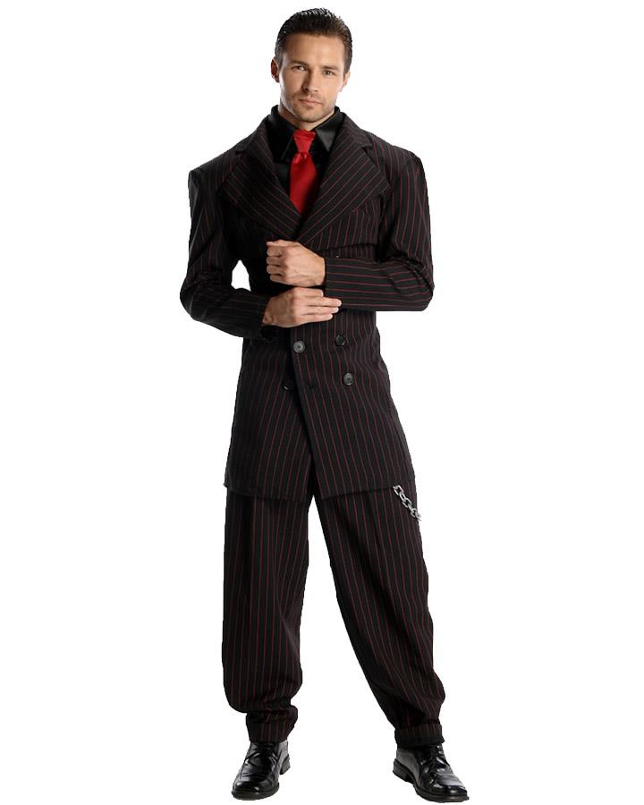 Zoot Suit Gangster Mens Costume