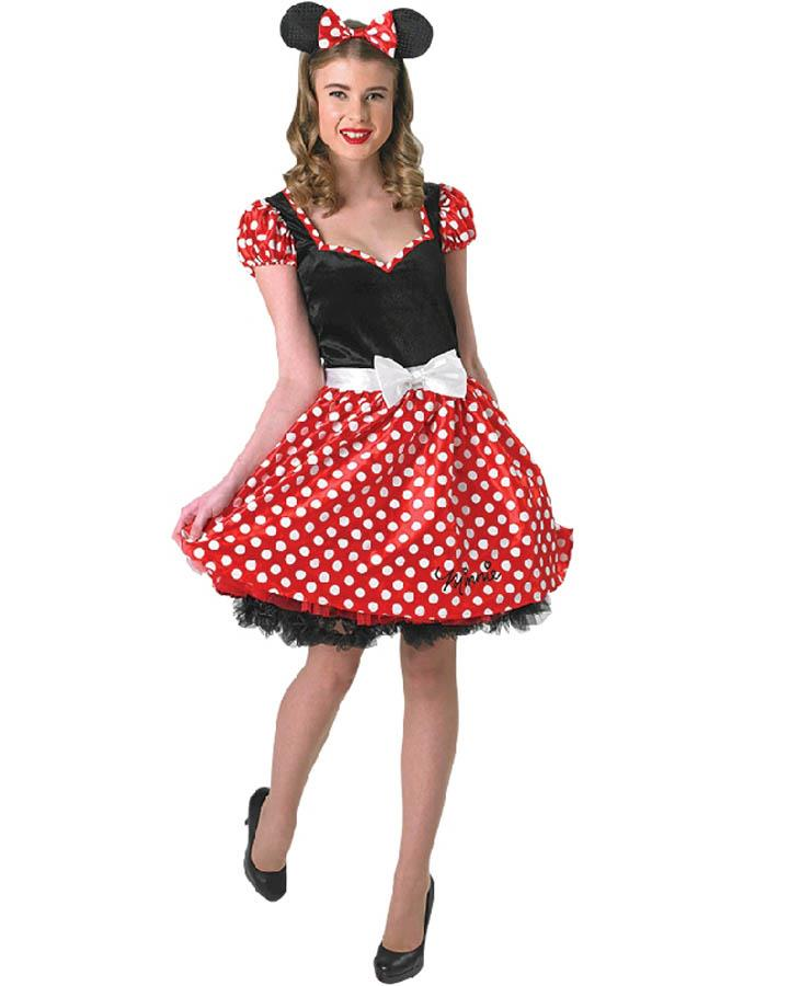 Sassy Minnie Mouse Womens Costume