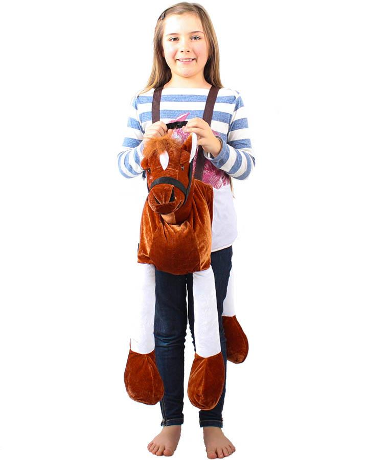 Horse Butterscotch Wrap and Ride Child