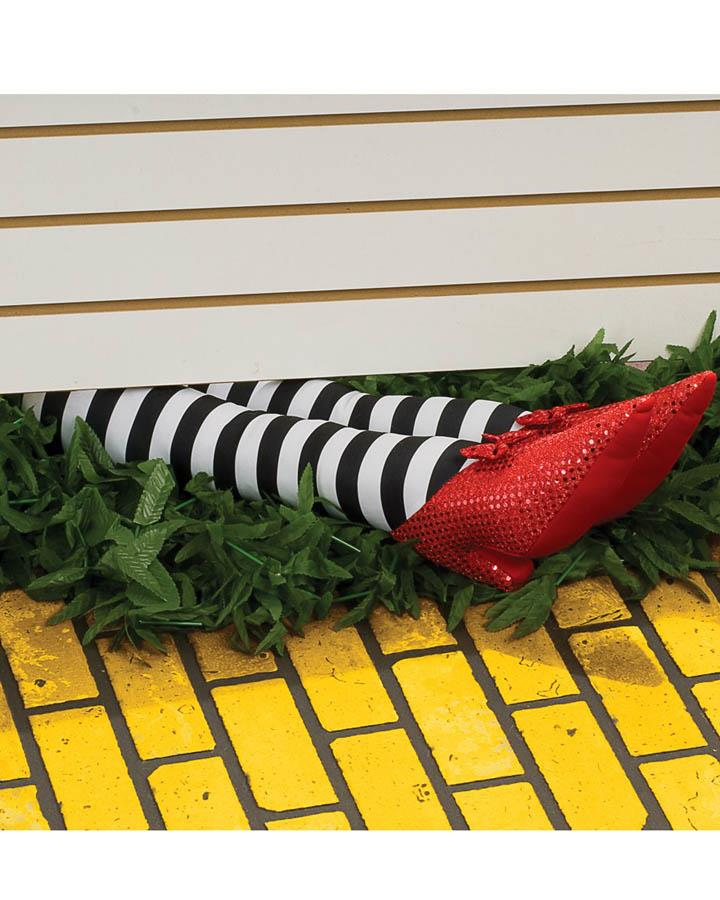 Wicked Witch Legs Prop 18 Inch