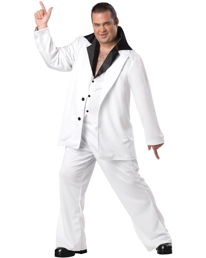 Saturday Night Fever Mens Plus Size Costume