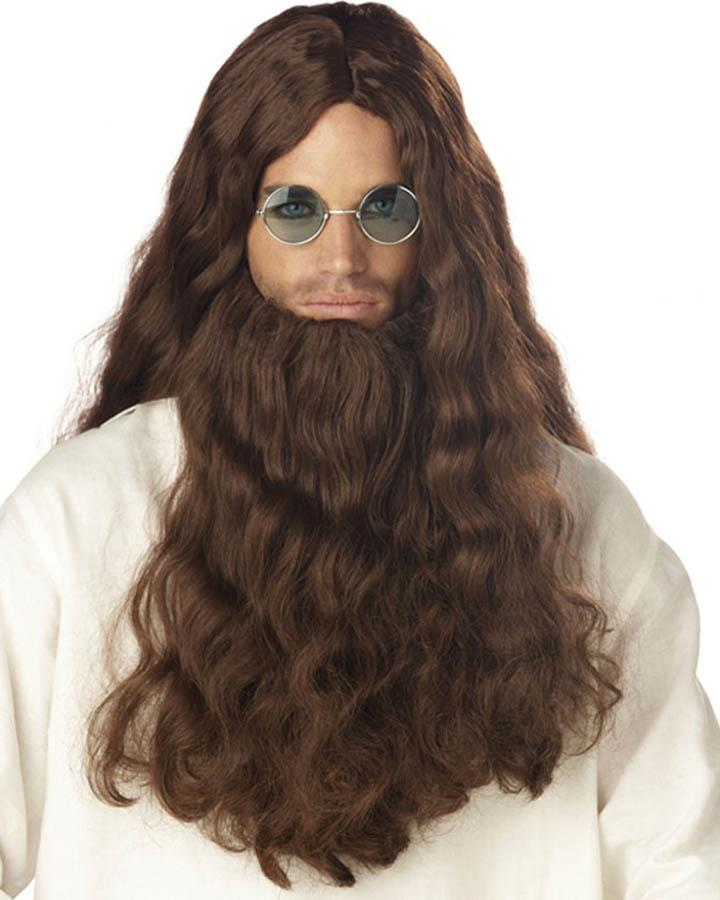 60s Trippin Wig and Beard
