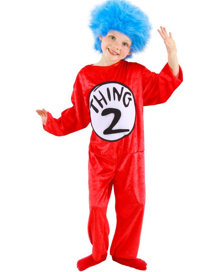 Dr Seuss Thing 1 and 2 Toddler Costume