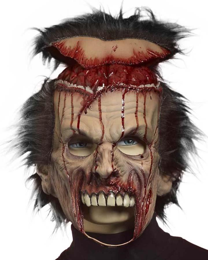 Flip Your Wig Zombie Mask