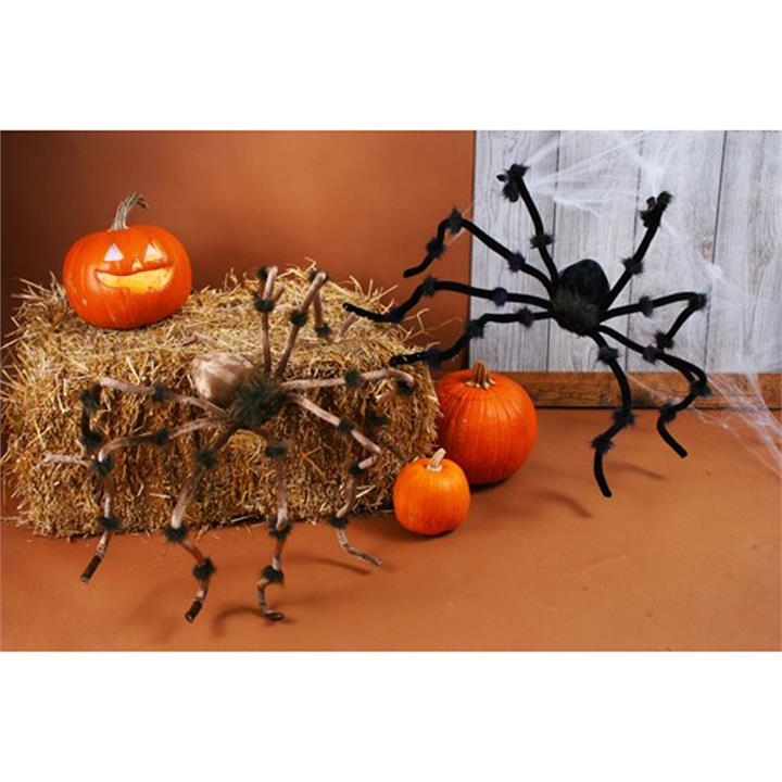20 Inch Plush Spider Decoration