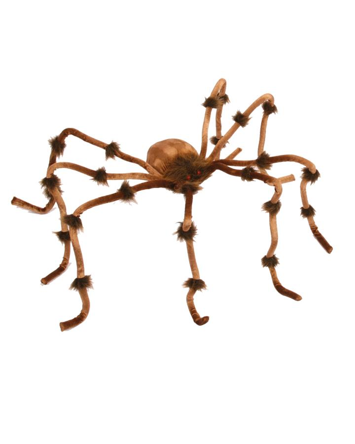 50cm Small Brown Plush Spider