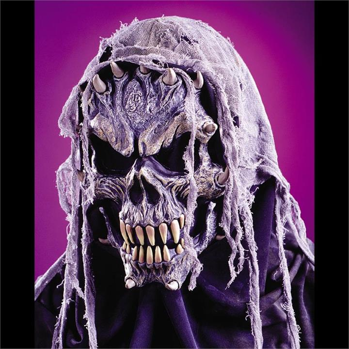 Crypt Creature Skull Mask with Fangs