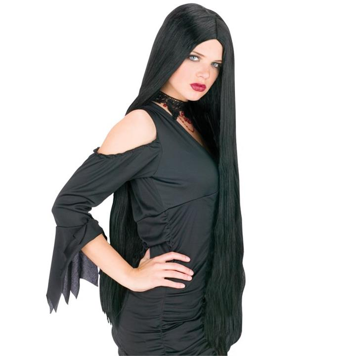 36 Inch Luxurious Black Wig