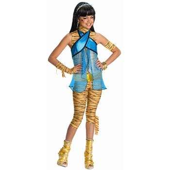 Monster High Cleo de Nile Girls Costume