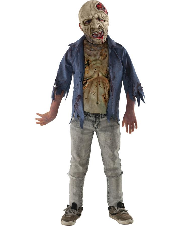 The Walking Dead Decomposed Zombie Teen Boys Costume
