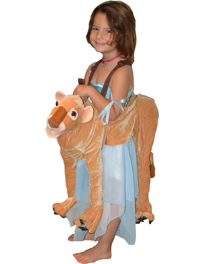 Lioness Wrap N Ride Child Costume