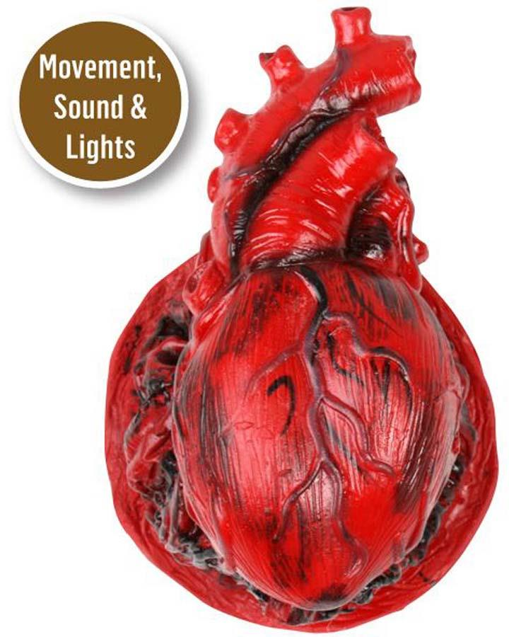 Heart Prop with Movement Sound and Lights