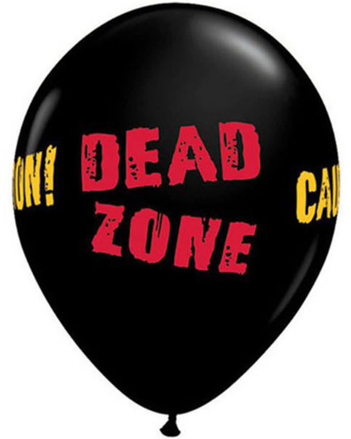 Dead Zone Balloons Pack of 25