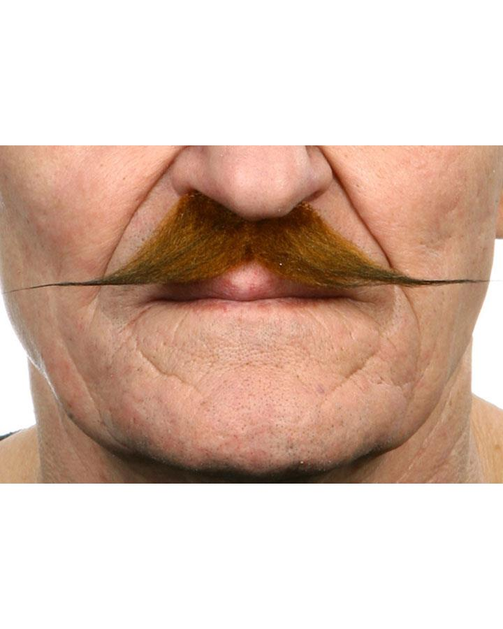 Brown French Moustache