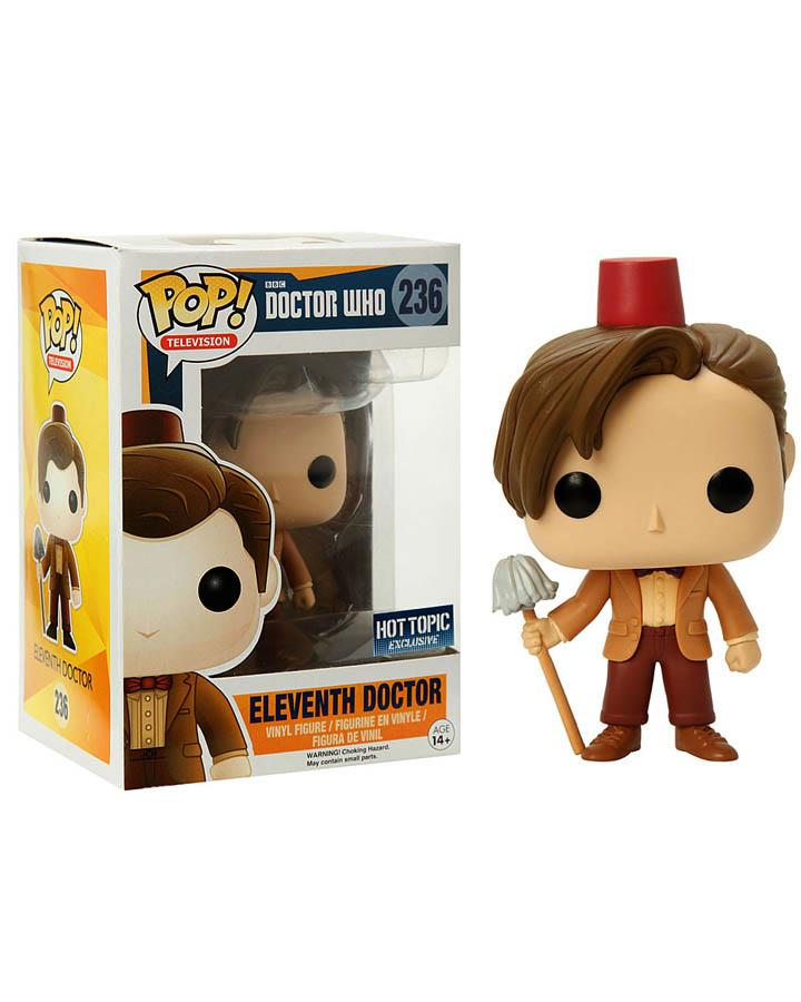 11th Doctor Who Pop Vinyl Figure with Mop