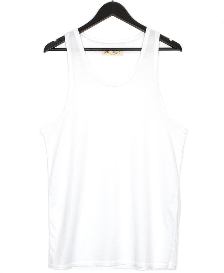 Never Basic Tank White