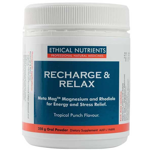 Ethical Nutrients Recharge & Relax