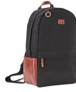Berlin backpack Black canvas