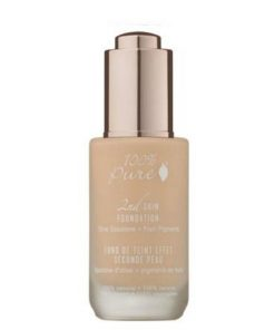 100% Pure 2nd Skin Foundation with Olive Squalane + Fruit Pigments: Creme - 35ml