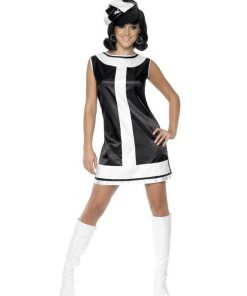 1960s Groovy Chick Womens Costume