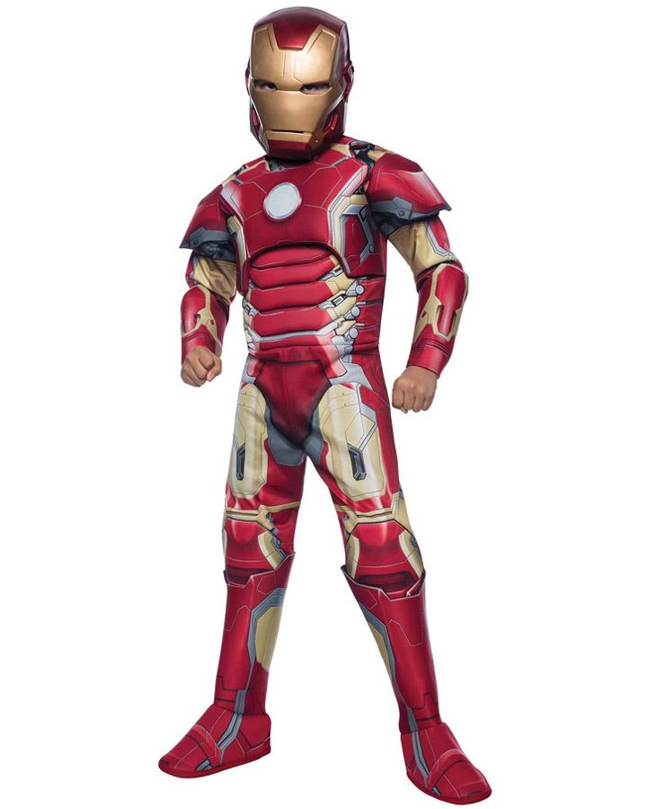 Iron Man Age of Ultron Deluxe Boys Costume