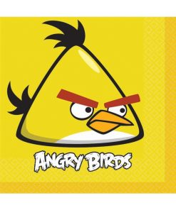 Angry Birds Lunch Napkins Pack of 16