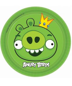 Angry Birds 18cm Party Plates