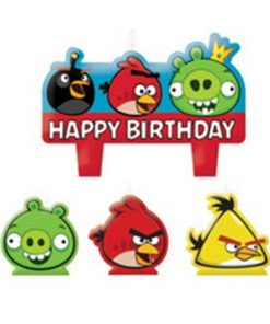 Angry Birds Mini Candles