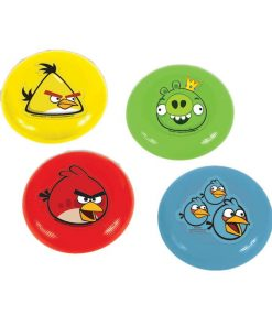 Angry Birds Flying Disc Favours Pack of 4