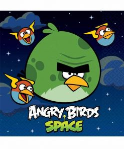 Angry Birds Space Lunch Napkins Pack of 16