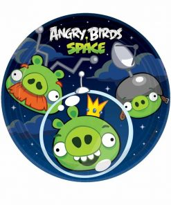 Angry Birds Space Party Plates 7 Inch