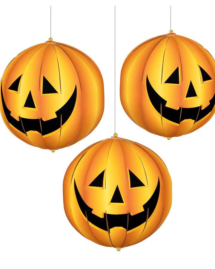 3D Pumpkin Lantern Decoration