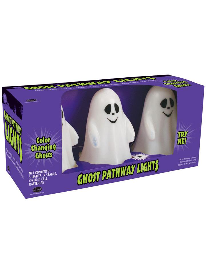 3 Pc Ghost Pathway Lights